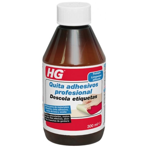 HG QUITA ADHESIVOS 300ml.